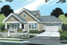 Craftsman Exterior - Front Elevation Plan #20-1882