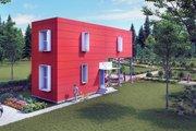 Modern Style House Plan - 2 Beds 2 Baths 1000 Sq/Ft Plan #905-5