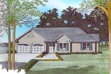 Dream House Plan - European Exterior - Other Elevation Plan #56-116