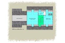 Colonial Floor Plan - Upper Floor Plan Plan #489-7
