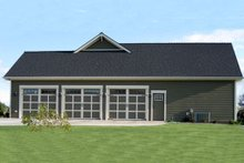 Dream House Plan - Craftsman Exterior - Other Elevation Plan #21-349