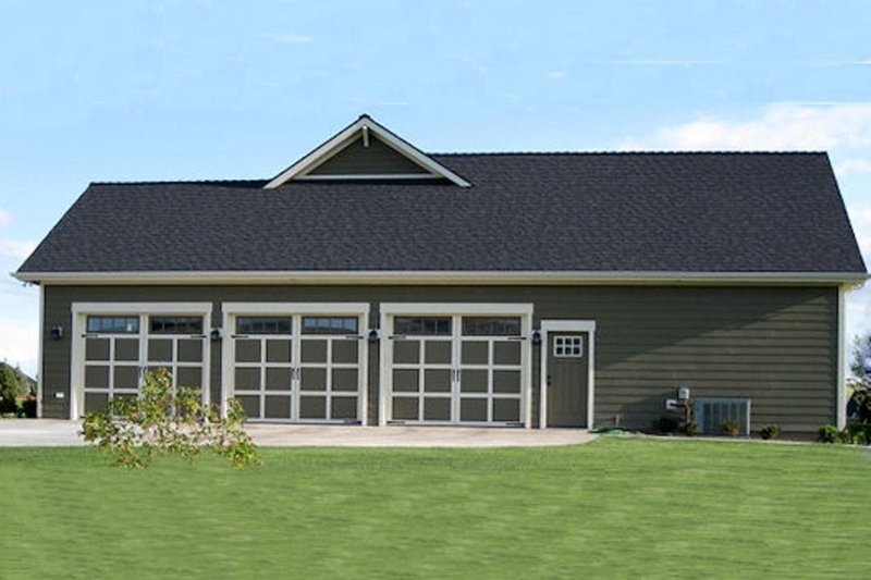 Craftsman Exterior - Other Elevation Plan #21-349 - Houseplans.com
