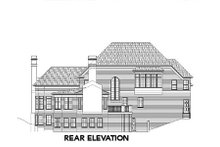 Dream House Plan - European Exterior - Rear Elevation Plan #119-240