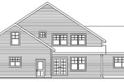 Traditional Style House Plan - 3 Beds 2.5 Baths 2263 Sq/Ft Plan #124-596 Exterior - Rear Elevation