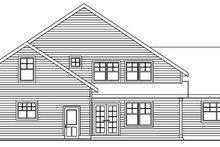 Traditional Exterior - Rear Elevation Plan #124-596
