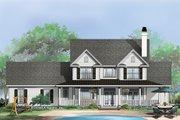 Farmhouse Style House Plan - 4 Beds 2.5 Baths 2506 Sq/Ft Plan #929-297 Exterior - Rear Elevation