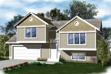 House Design - Traditional Exterior - Front Elevation Plan #96-308