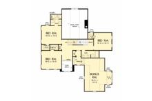 Craftsman Floor Plan - Upper Floor Plan Plan #929-1061