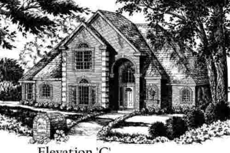 European Exterior - Other Elevation Plan #40-259 - Houseplans.com