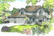Traditional Style House Plan - 4 Beds 2.5 Baths 2887 Sq/Ft Plan #124-525 Exterior - Other Elevation