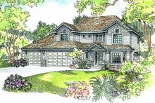 Home Plan - Traditional Exterior - Other Elevation Plan #124-525