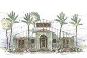 Beach Style House Plan - 3 Beds 2 Baths 1622 Sq/Ft Plan #426-11