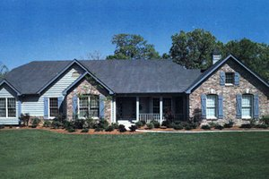 Traditional Exterior - Front Elevation Plan #57-102