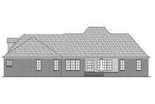 Architectural House Design - European Exterior - Rear Elevation Plan #21-186