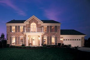 Dream House Plan - Classical Exterior - Front Elevation Plan #57-106