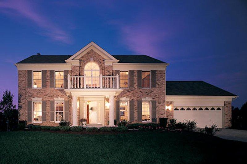 Classical Exterior - Front Elevation Plan #57-106 - Houseplans.com