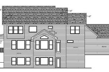 Country Exterior - Rear Elevation Plan #51-358