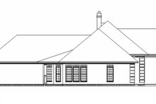 Home Plan - Traditional Exterior - Other Elevation Plan #45-599