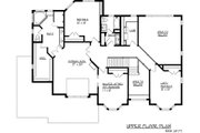 European Style House Plan - 4 Beds 2.5 Baths 3487 Sq/Ft Plan #320-488 Floor Plan - Upper Floor Plan
