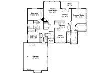 Floor Plan - Main Floor Plan Plan #124-117