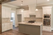 Craftsman Style House Plan - 3 Beds 2 Baths 2073 Sq/Ft Plan #430-157 Interior - Kitchen