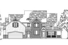 Dream House Plan - Country Exterior - Front Elevation Plan #5-193