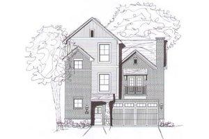 Modern Exterior - Front Elevation Plan #141-262