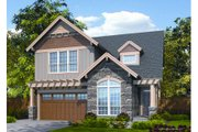 Craftsman Style House Plan - 3 Beds 2.5 Baths 2502 Sq/Ft Plan #48-263 Exterior - Front Elevation