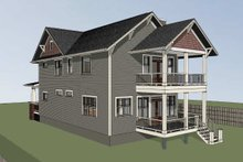 Dream House Plan - Craftsman Exterior - Other Elevation Plan #79-317
