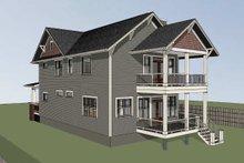 House Plan Design - Craftsman Exterior - Other Elevation Plan #79-317