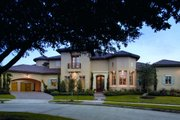 Mediterranean Style House Plan - 5 Beds 5.5 Baths 6834 Sq/Ft Plan #20-2141 Exterior - Other Elevation
