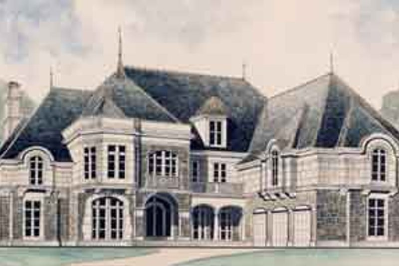 House Plan Design - European Exterior - Front Elevation Plan #119-163