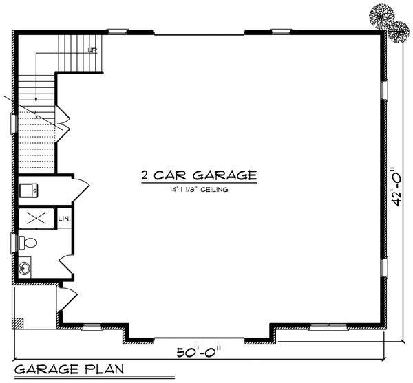 House Plan Design - European Floor Plan - Main Floor Plan #70-1451
