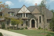 European Style House Plan - 5 Beds 4.5 Baths 5796 Sq/Ft Plan #413-125 Exterior - Other Elevation