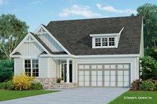 Cottage Exterior - Front Elevation Plan #929-1083