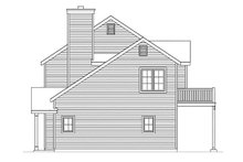 House Design - Country Exterior - Other Elevation Plan #22-610