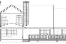 Traditional Exterior - Rear Elevation Plan #124-109