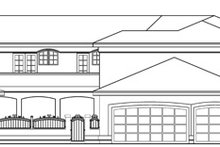 Dream House Plan - Exterior - Other Elevation Plan #124-646