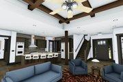 Craftsman Style House Plan - 4 Beds 3.5 Baths 3690 Sq/Ft Plan #1069-12 Interior - Kitchen