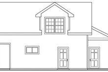 House Plan Design - Traditional Exterior - Other Elevation Plan #124-641