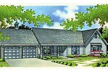 Home Plan Design - Ranch Exterior - Front Elevation Plan #45-190