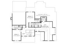 Farmhouse Floor Plan - Upper Floor Plan Plan #927-990