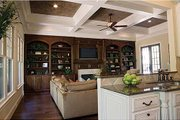 Craftsman Style House Plan - 4 Beds 4.5 Baths 3680 Sq/Ft Plan #453-14 Interior - Family Room