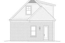 House Plan Design - Traditional Exterior - Rear Elevation Plan #932-269
