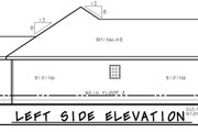 Craftsman Style House Plan - 3 Beds 2 Baths 1373 Sq/Ft Plan #20-2181