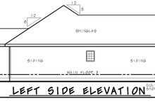 Craftsman Exterior - Other Elevation Plan #20-2181