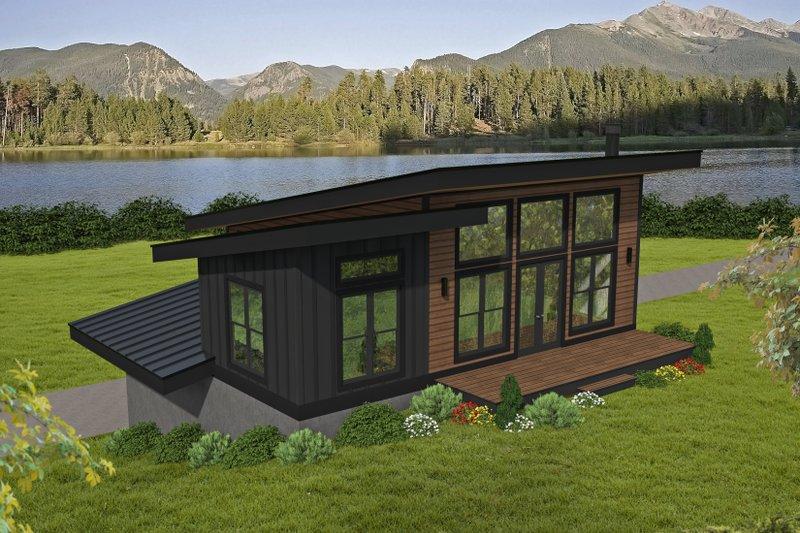 House Plan Design - Contemporary Exterior - Front Elevation Plan #932-450