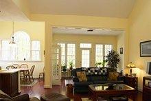 Dream House Plan - European Interior - Family Room Plan #137-153