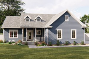 Traditional Exterior - Front Elevation Plan #455-229