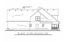 Dream House Plan - Traditional Exterior - Other Elevation Plan #20-1555